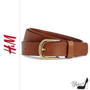 HM: Dark Brown Leather Belt (Large)
